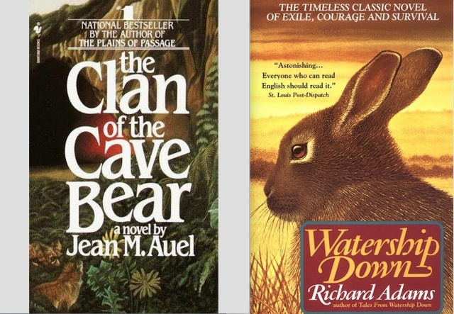 Clan of the Cave Bear & Watership Down